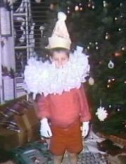 Wes as Santa